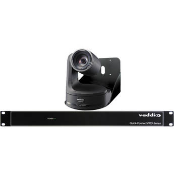 Vaddio WallVIEW PRO Pan/Tilt/Zoom HE120 Camera System (Black)