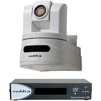 Vaddio WallVIEW HD-19 USB High Definition PTZ Camera Control System (Arctic White)