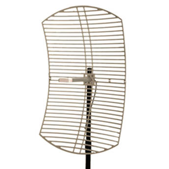 VideoComm Technologies 5.8 GHz 29 dB High-Gain All-Weather Directional Parabolic Grid Antenna