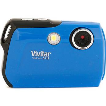 Vivitar ViviCam 5119 Digital Camera (Blue)