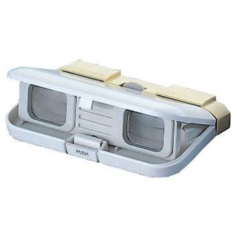 Vixen Optics 3x28 Folding Opera Glasses (Yellow)