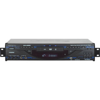 VocoPro DVX-890K Multi-Format Digital Key Control DVD / DivX Player