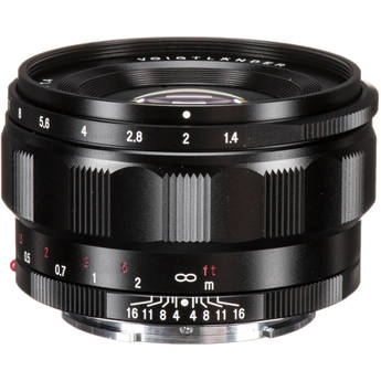 Voigtlander Nokton Classic 35mm f/1.4 Lens for Sony E