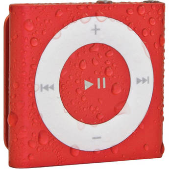 Waterfi Waterproofed iPod Shuffle (Red)