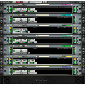 Waves MultiRack for Live Sound (Native)