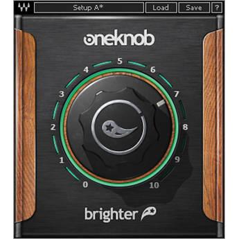 Waves OneKnob Brighter - Intelligent Treble Booster Plug-In (Native/SoundGrid, Download)
