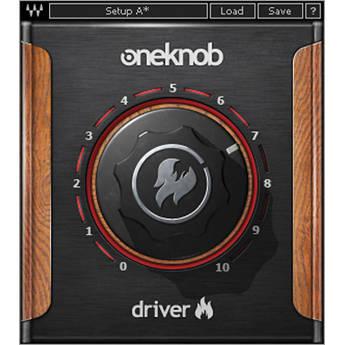 Waves OneKnob Driver - Overdrive/Distortion Plug-In (Native/SoundGrid, Download)