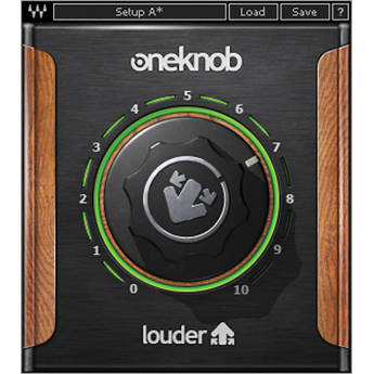 Waves OneKnob Louder - Dynamics Plug-In (Native/SoundGrid, Download)