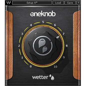 Waves OneKnob Wetter - Reverb Plug-In (Native/SoundGrid, Download)