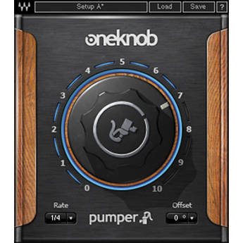 Waves OneKnob Pumper - Instant Ducking Effect Plug-In (Native, Download)