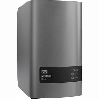 WD 8TB My Book Duo External RAID Storage