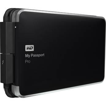 WD 2TB My Passport Pro Portable RAID Storage Drive