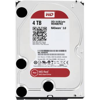 "WD 4TB WD Red SATA 3.5"" Internal HDD (WD40EFRX)"