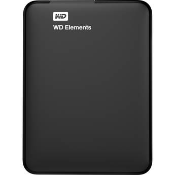 WD 500GB Elements Portable Hard Drive