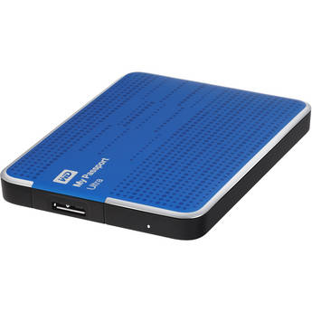 WD 1TB My Passport Ultra Portable Hard Drive (Blue)