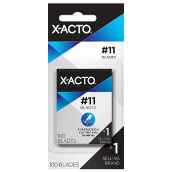 X-Acto #2 Large Fine Point Blades with Dispenser (100-Pack)