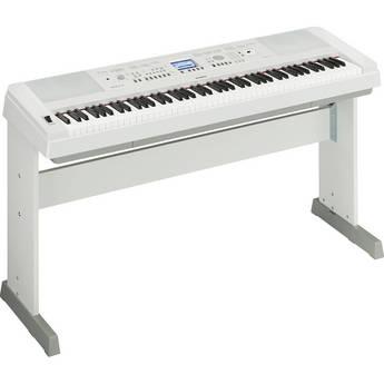 Yamaha DGX-650 - PortableGrand Digital Piano (White)