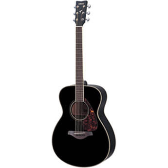 Yamaha FS720S Concert Acoustic Guitar (Black)