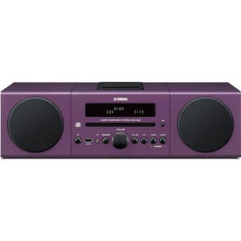 Yamaha MCR-042 Micro Component System (Purple)