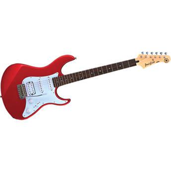 Yamaha PAC012 Pacifica Double Cutaway Electric Guitar (Metallic Red)