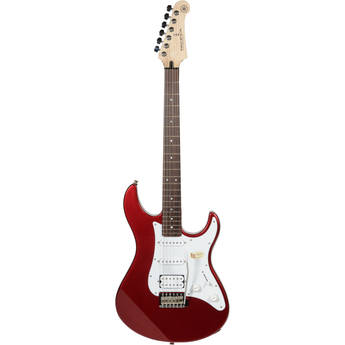 Yamaha PAC112J Pacifica Double Cutaway Electric Guitar (Metallic Red)