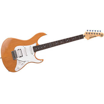 Yamaha PAC112J Pacifica Double Cutaway Electric Guitar (Natural)