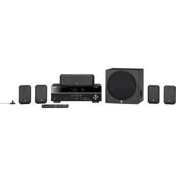 Yamaha YHT-399UBL 5.1-Channel Home Theater in a Box