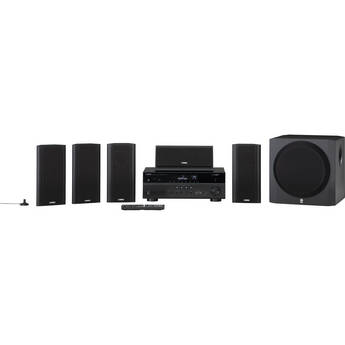 Yamaha YHT-799UBL 5.1-Channel Network AV Home Theater in a Box