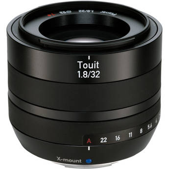 Zeiss Touit 32mm f/1.8 Lens (Fujifilm X-Mount)