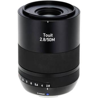 Zeiss Touit 50mm f/2.8M Lens (Fujifilm X-Mount)