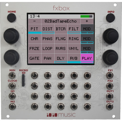 1010 Music Fxbox Performance Effects Eurorack Module with Touchscreen