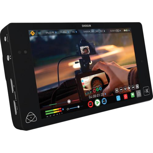 Atomos Shogun 4K HDMI/12G-SDI Recorder and 7