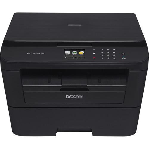 Refurb Brother Monochrome Laser All-in-One Printer + Binder Clip