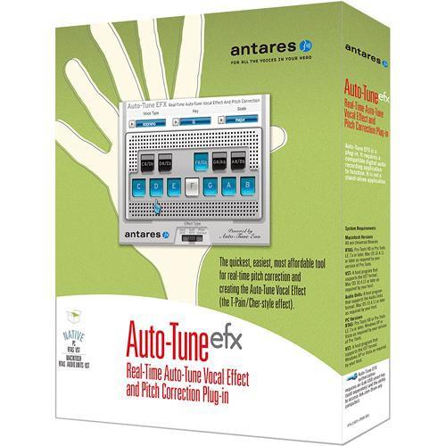 Antares Audio Technologies Auto-Tune EFX - Pitch Correction Plug-In