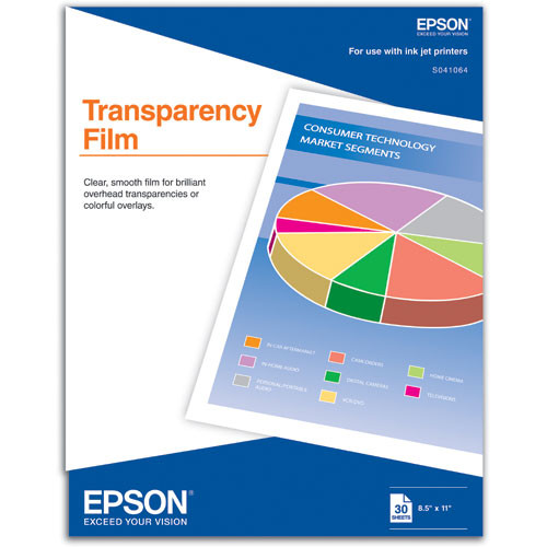 Epson Transparency Media for Inkjet - 8 5x11