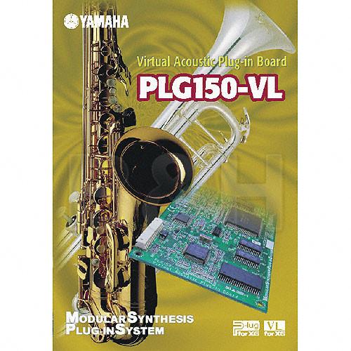 Yamaha PLG150-VL - Virtual Acoustic VL Expansion Board for MOTIF, S80, S30,  CS6X and MU128