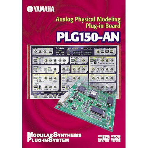 Yamaha PLG150-AN - Analog Physical Modeling Expansion Board for S80, S30,  CS6X and MU128