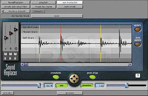 Digidesign SoundReplacer - Drum Hit and Sound Replacement Plug-In for  Digidesign's Pro Tools (AudioSuite) - Mac OS X and Windows XP