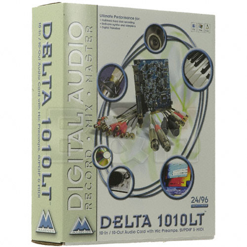 M-Audio Delta 1010LT 10 Input / 10 Output PCI Sound Card for Mac and PC