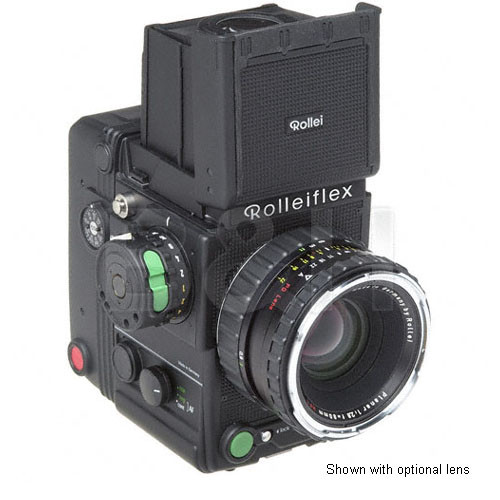 Rollei 6008AF Medium Format Auto Focus SLR Camera Body with 120 Film Back  and Waist Level Viewfinder