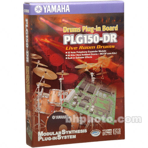 Yamaha PLG150-DR - Live Room Drums Expansion Board