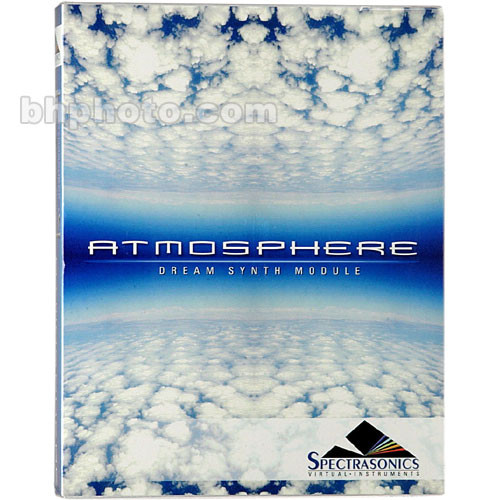 Spectrasonics Atmosphere - Dream Synth Module Software Plug-In Instrument  for Host Programs Supporting MAS, RTAS or VST 2 0 for Mac and VST 2 0 for PC