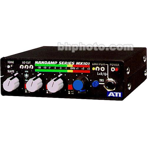 ATI Audio Inc MX-101 Mono 3-Channel Field Audio, Broadcast and Studio  Production Mixer
