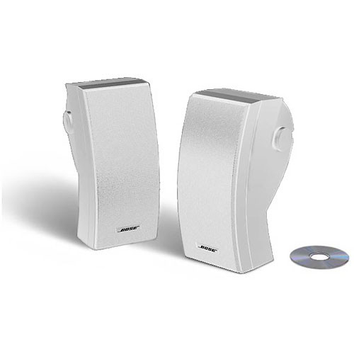 Bose (24644) 251 Outdoor Environmental Speakers (White)