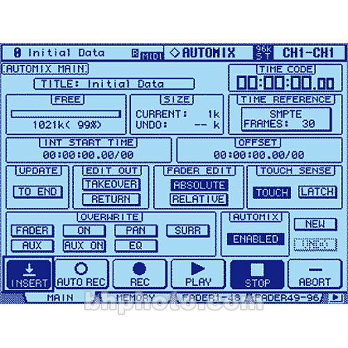 Yamaha AutoMix Memory Expansion Kit for 02R96 Digital Console