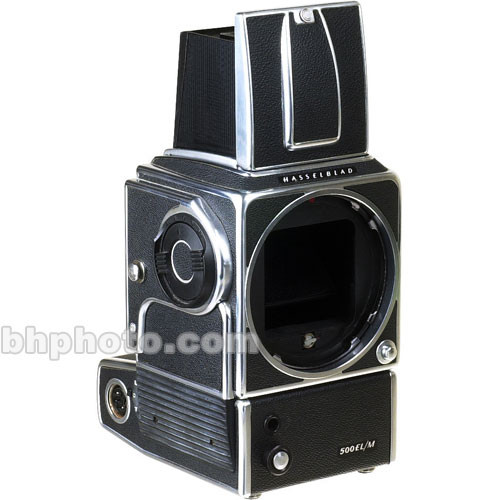 Hasselblad 500ELM Medium Format SLR Camera Body (Chrome) with built-in  Winder