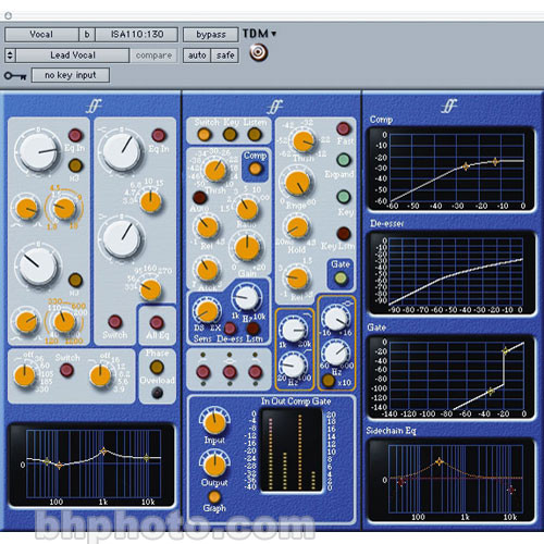 Digidesign Forte Suite Channel Strip Plug-In for Pro Tools TDM Systems -  Mac OS X and Windows XP