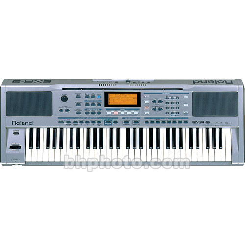 Roland EXR-5 - 61-Key Interactive Arranger Keyboard with Bass-Reflex  Speakers and USB Port