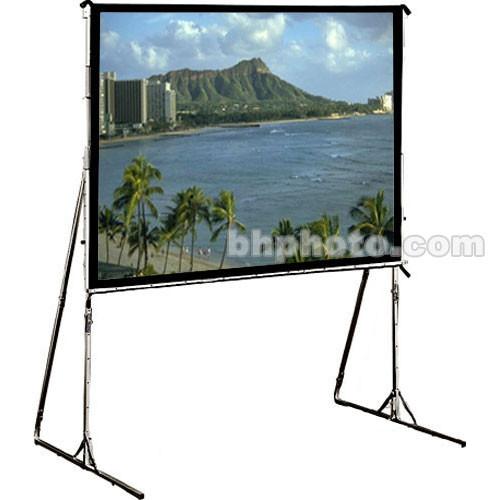 Draper (218200) Cinefold Folding Portable Rear Projection Screen with Heavy-Duty Legs - 79 x 140