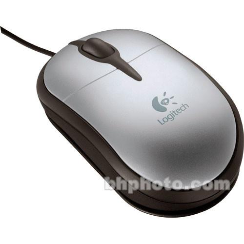 Logitech Notebook Optical Mouse Plus - Optical Portable Mouse - USB